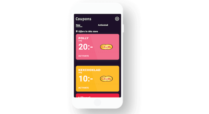 create mobile coupon code