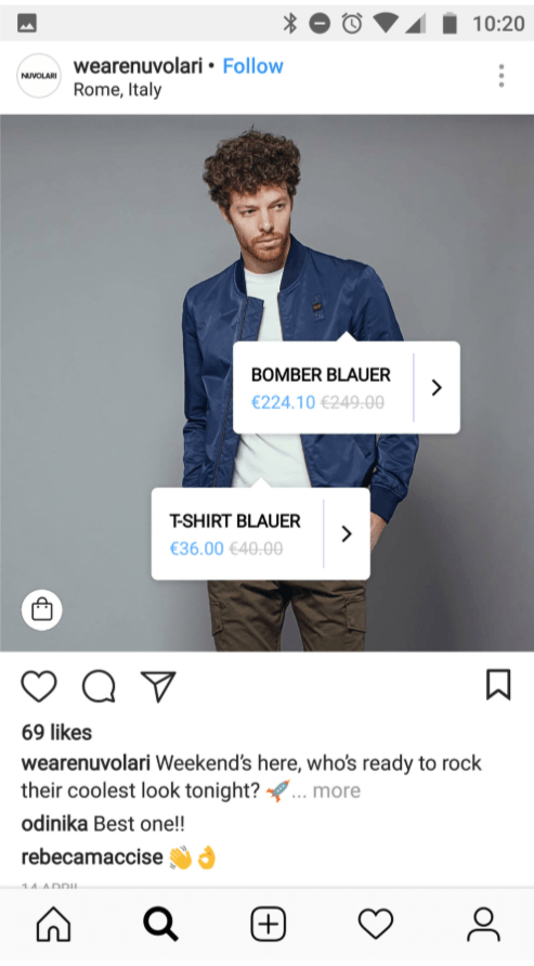 Product Tags on Instagram
