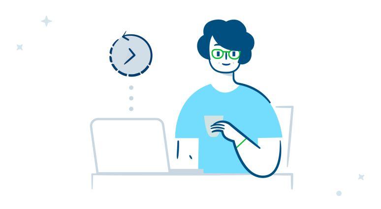 Website promotion: Average time on website