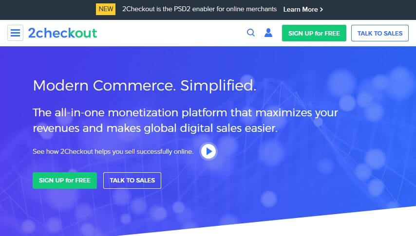 Best Payment Gateway in Australia: 2Checkout