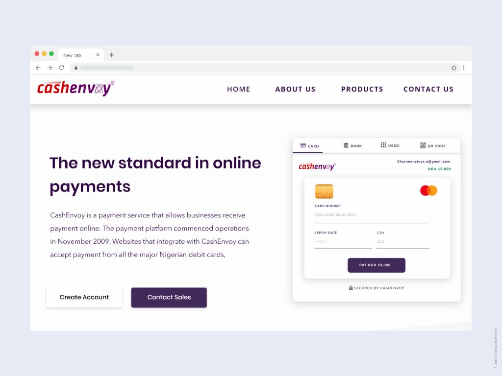 Cashenvoy - best payment gateway in Nigeria
