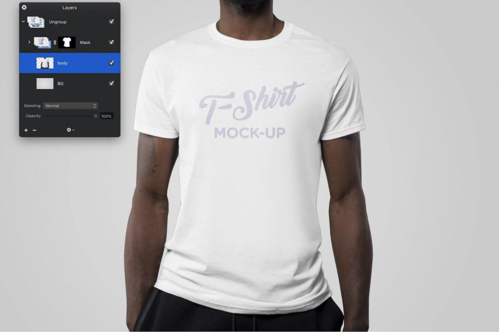 Mock up your T-shirts