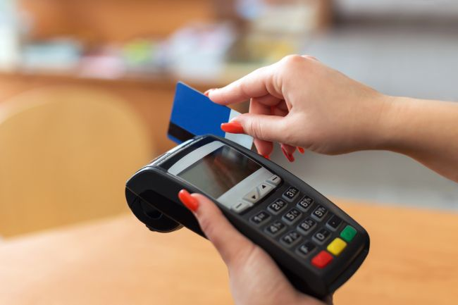 Use credit card machines to process payments