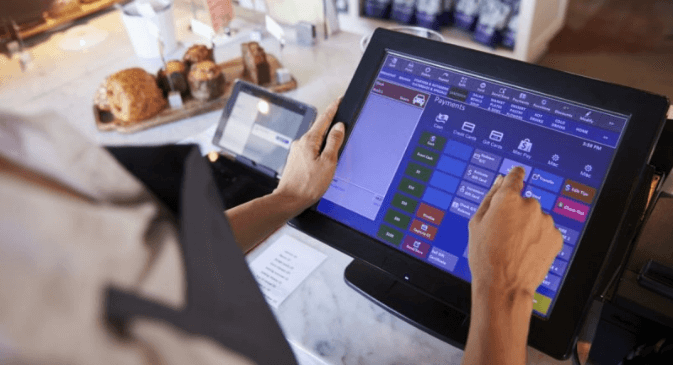 How to use a POS machine - integrated terminal