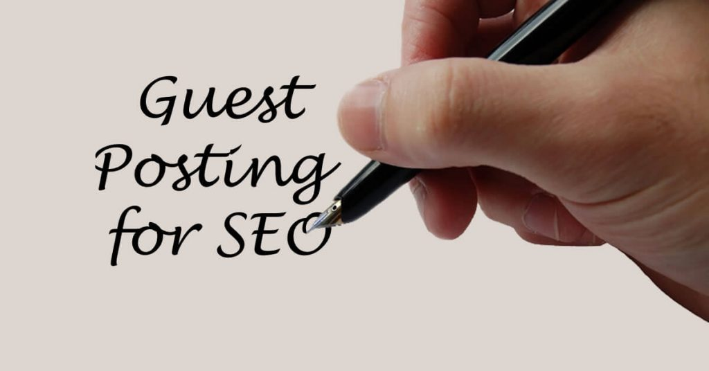 Guest posting and SEO optimization