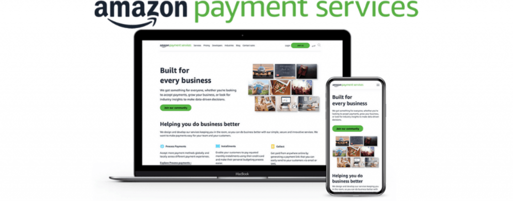Best Payment Gateway in USA #5: Amazon Pay