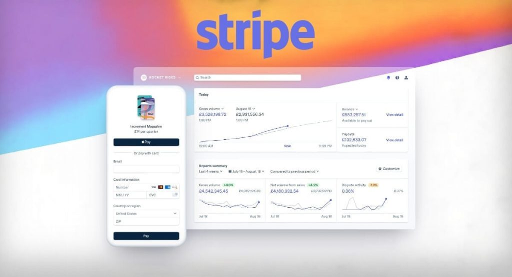 Best Payment Gateway in USA #3: Stripe Payment Gateway