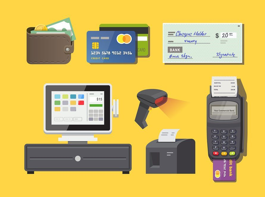 how does a pos system work