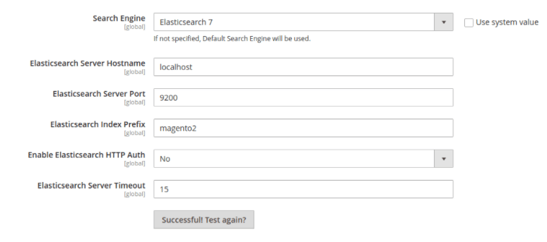 install ElasticSearch within Magento 2
