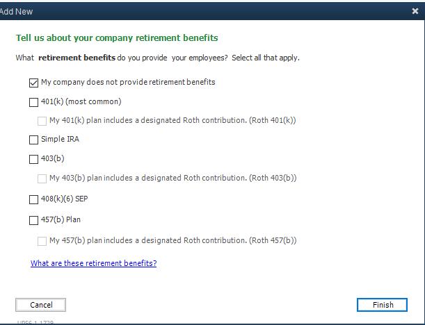 Set Up Employee Benefits