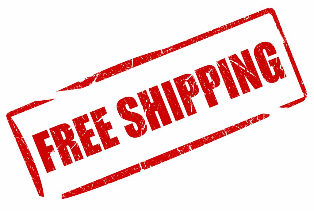 how to calculate shipping cost free shipping