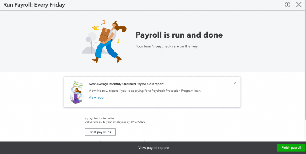Submit or Save Payroll