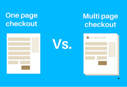 Which one to choose? One-page checkout vs multi-page checkout
