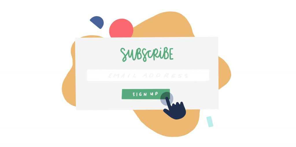 """Be creative with the """"Subscribe"""" button"""