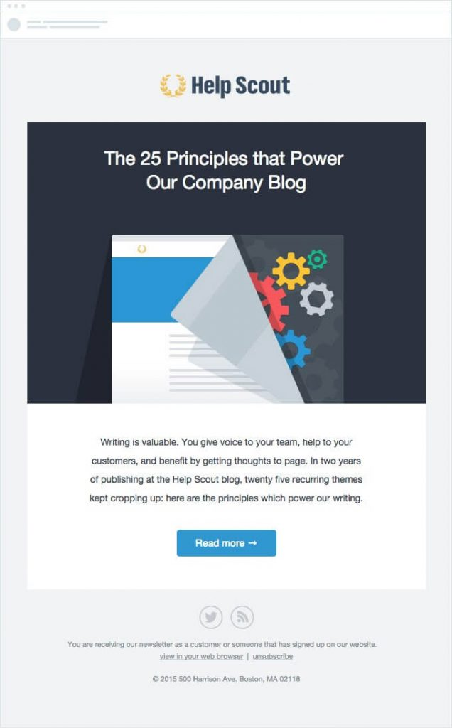 Promote your new blog posts